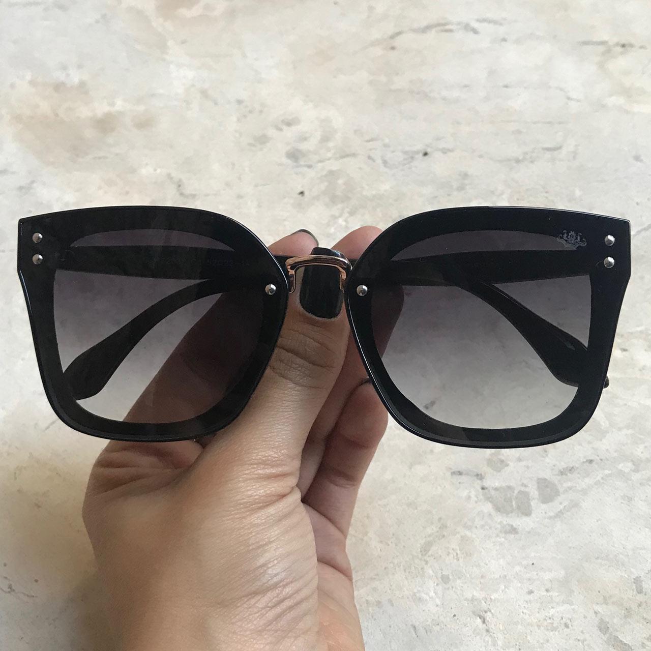 bd9d7b9867e41 Óculos de Sol Malu Preto – Dondoca Moda Feminina
