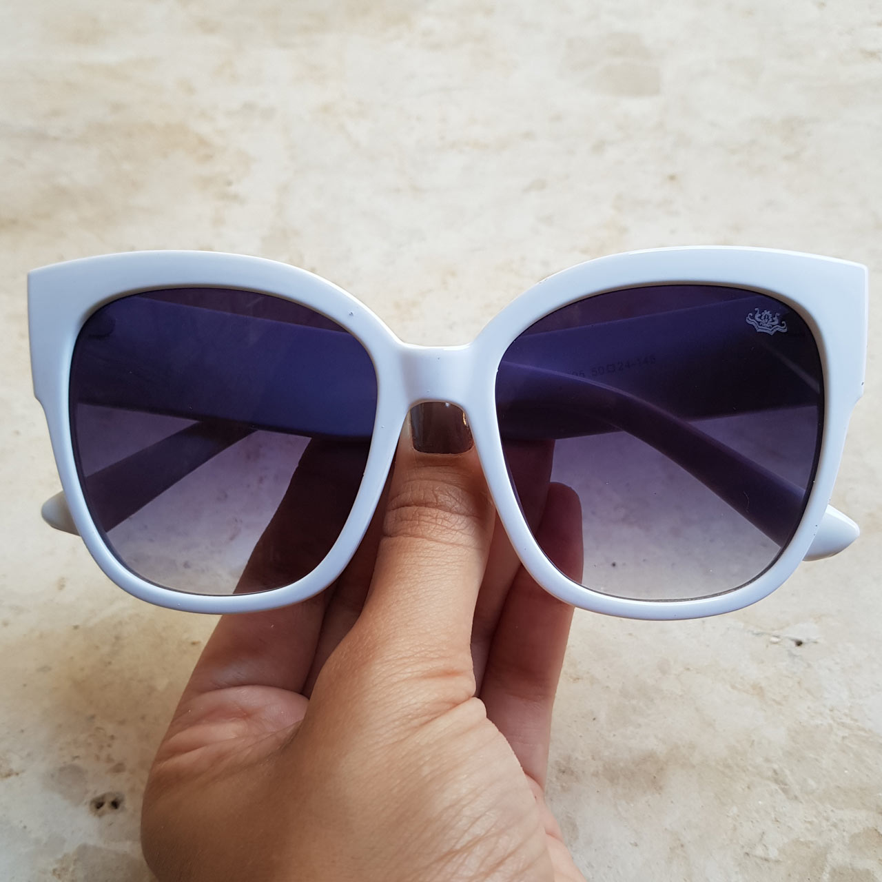 43cc045015604 Óculos de Sol Lorena Branco – Dondoca Moda Feminina