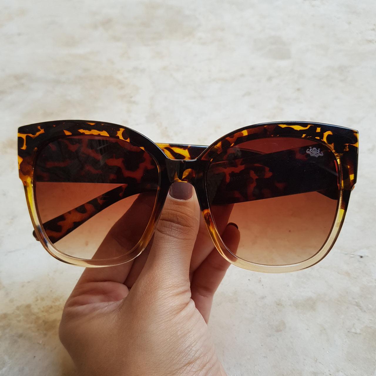 Óculos de Sol Lorena Rajado – Dondoca Moda Feminina 91d503d996