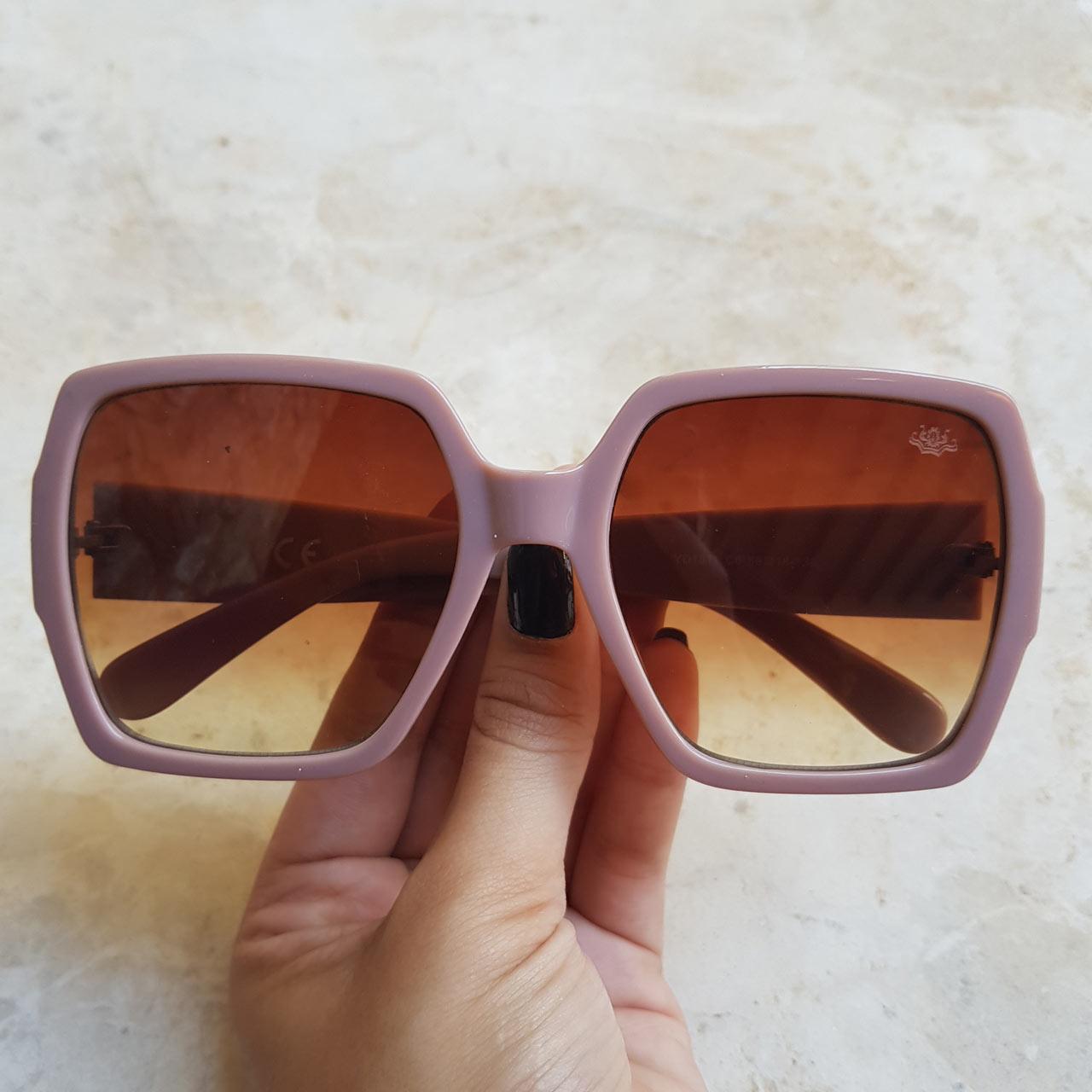 ebabf751ed8a6 Óculos de Sol Eduarda Marrom Fosco – Dondoca Moda Feminina