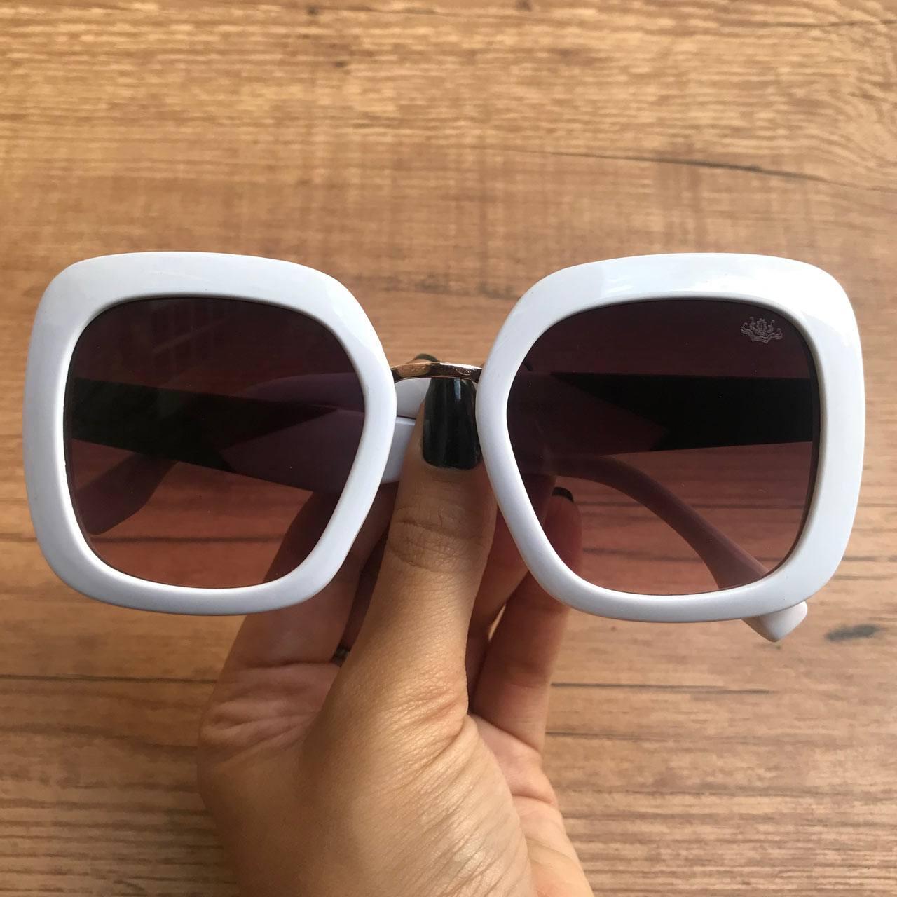 a13e76a0f37a1 Óculos de Sol Joice Branco – Dondoca Moda Feminina