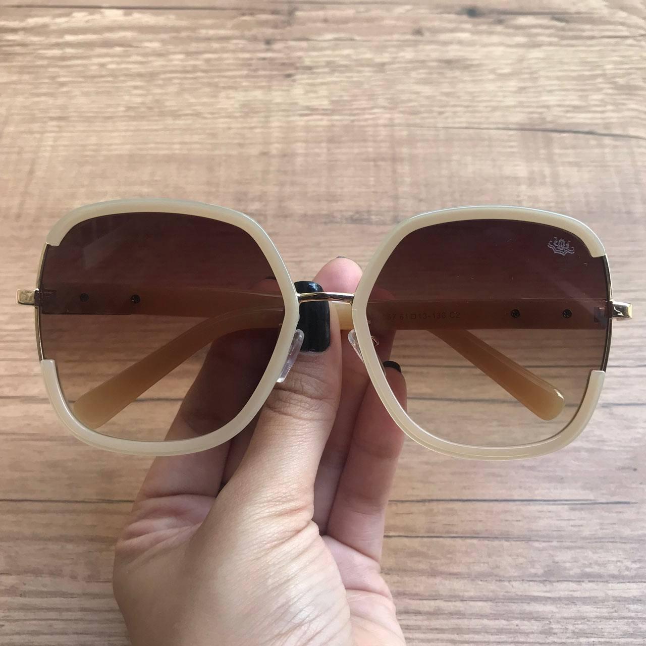 8124fb94084fd Óculos de Sol Sabrina Creme – Dondoca Moda Feminina